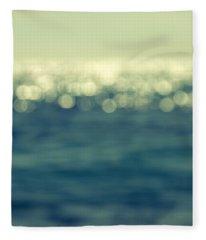 Blurred Light Fleece Blanket