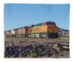 Bnsf 7649 Fleece Blanket
