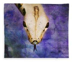 Boa Snake Fleece Blanket