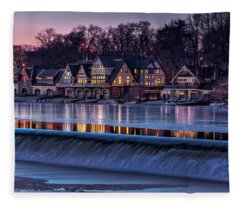Boathouse Row Fleece Blanket