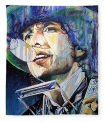 Bob Dylan Tangled Up In Blue Fleece Blanket