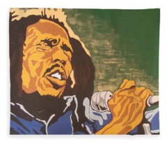 Bob Marley Fleece Blanket