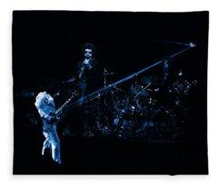 Boc #4 Lasers In Blue Fleece Blanket