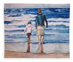 Bodega Bay Fleece Blanket