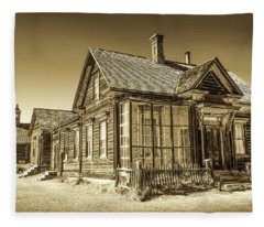 Bodie Ghost Town Fleece Blanket