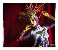 Bodypainting Fleece Blanket
