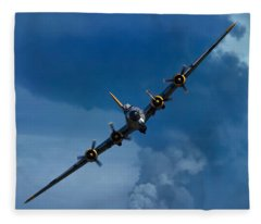 Boeing B-17 Flying Fortress Fleece Blanket