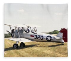 Boeing Stearman Fleece Blanket