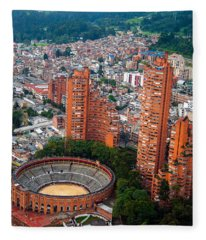 Bogota View Fleece Blanket