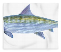 Bonefish Fleece Blanket