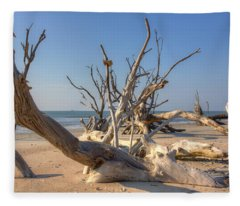 Boneyard Beach Fleece Blanket