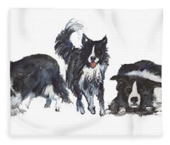 Border Patrol Fleece Blanket