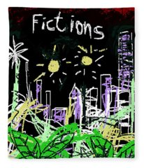 Borges Fictions Poster  Fleece Blanket