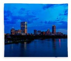 Boston Evening Fleece Blanket