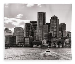Commercial Building Fleece Blankets