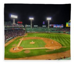 Boston Red Sox And New York Yankees At Fenway Park - Art Fleece Blanket