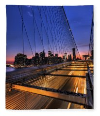 Bound For Greatness Fleece Blanket