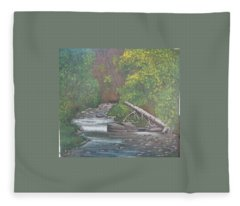Boundary Creek  Bc Fleece Blanket