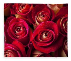 Boutique Roses Fleece Blanket