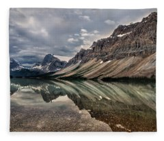 Bow Lake Fleece Blanket