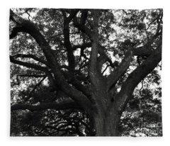Branches Of Life Fleece Blanket