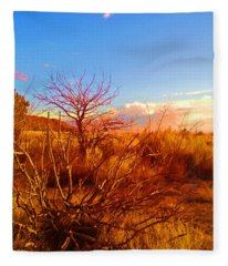 Branching Out Fleece Blanket