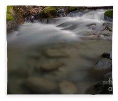 Brandy Creek Bottom Fleece Blanket