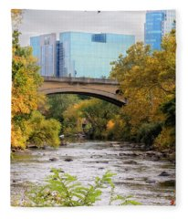 Brandywine Creek Fleece Blanket