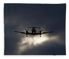 Brasilia Breakout Fleece Blanket