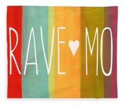 Brave Mom Fleece Blanket