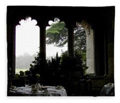 Breakfast At Daybreak Fleece Blanket