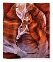 Breath Of Life Fleece Blanket