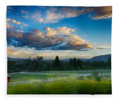 Breathtaking Colorado Sunset 1 Fleece Blanket