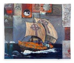 Brendan Voyage Fleece Blanket