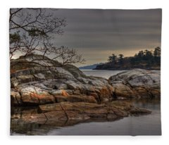 Tranquil Waters Fleece Blanket