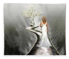 Bride Of Christ Fleece Blanket