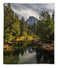 Bridge View Half Dome Fleece Blanket