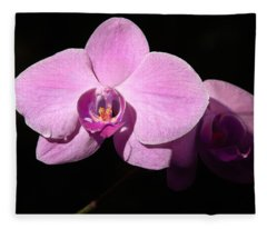 Bright Orchid Fleece Blanket