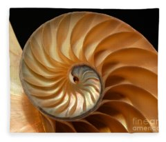 Brilliant Nautilus Fleece Blanket