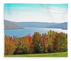 Bristol Harbour View Fleece Blanket