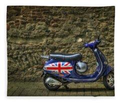 British At Heart Fleece Blanket
