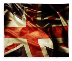 British Flag 1 Fleece Blanket