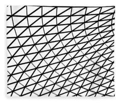 British Museum Geometry Fleece Blanket