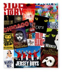 Broadway 1 Fleece Blanket
