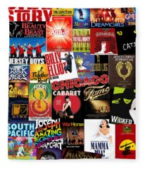 Broadway 4 Fleece Blanket