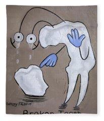 Broken Tooth Fleece Blanket