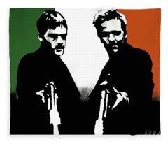 Brothers Killers And Saints Fleece Blanket