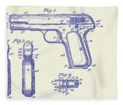 Browning Automatic Patent Fleece Blanket