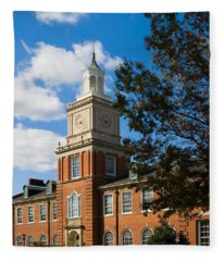 Browning Building At  A P S U Fleece Blanket