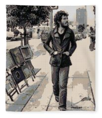 Bruce Springsteen Fleece Blanket